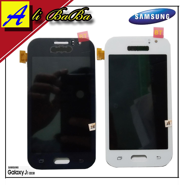 LCD Touchscreen Samsung Galaxy J1 Ace J110 J111 Layar Sentuh Samsung J1 Ace J110 J111 Kaca HP Samsung J1 Ace J110 J111 -FULLSET