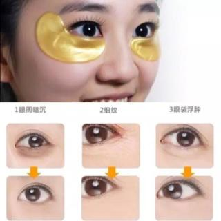 Masker Mata Emas Gold Collagen Crystal Eye Mask KUKE thumbnail
