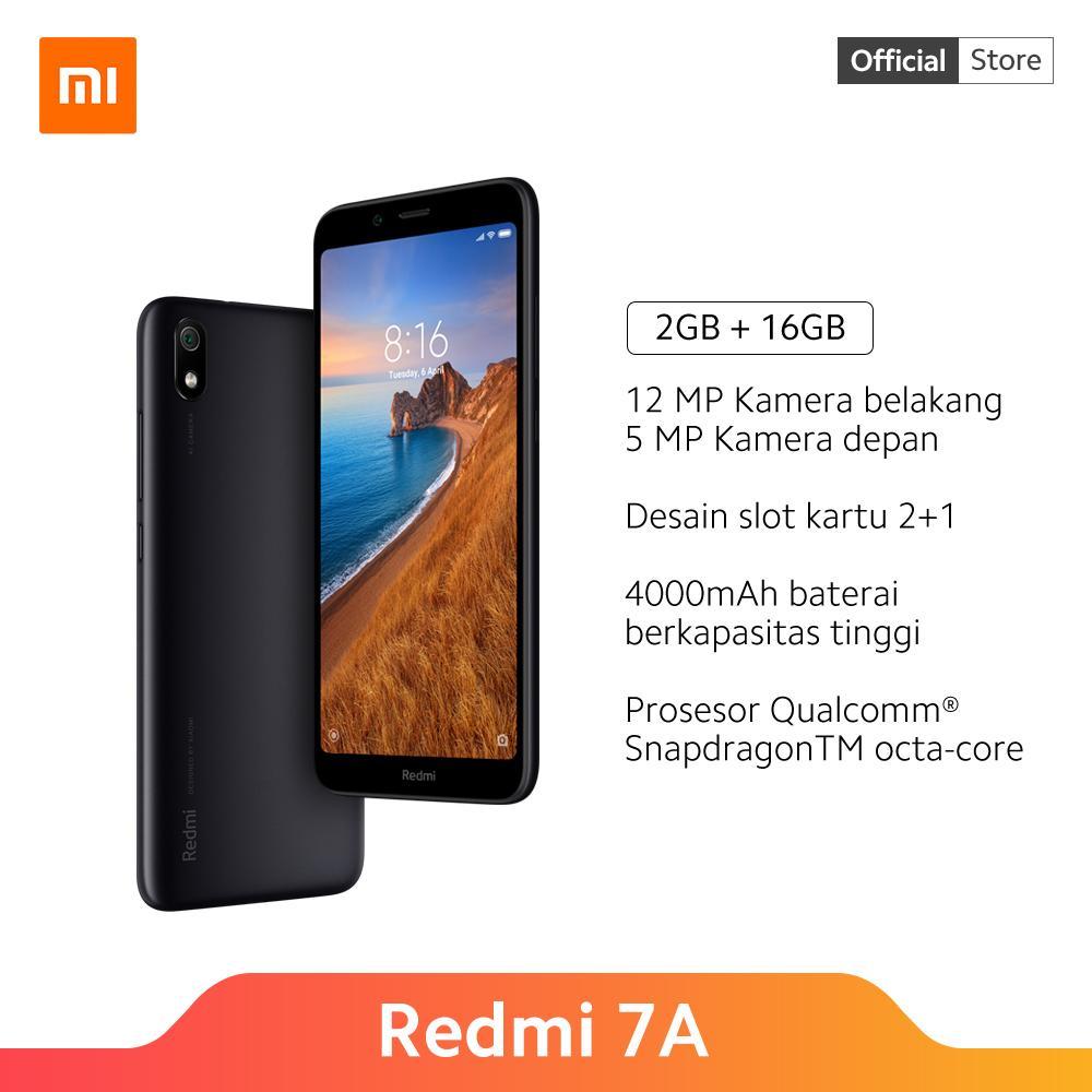 Redmi 7A (2GB+16GB) Snapdragon 439, 12 MP Kamera, 5,45 HD+