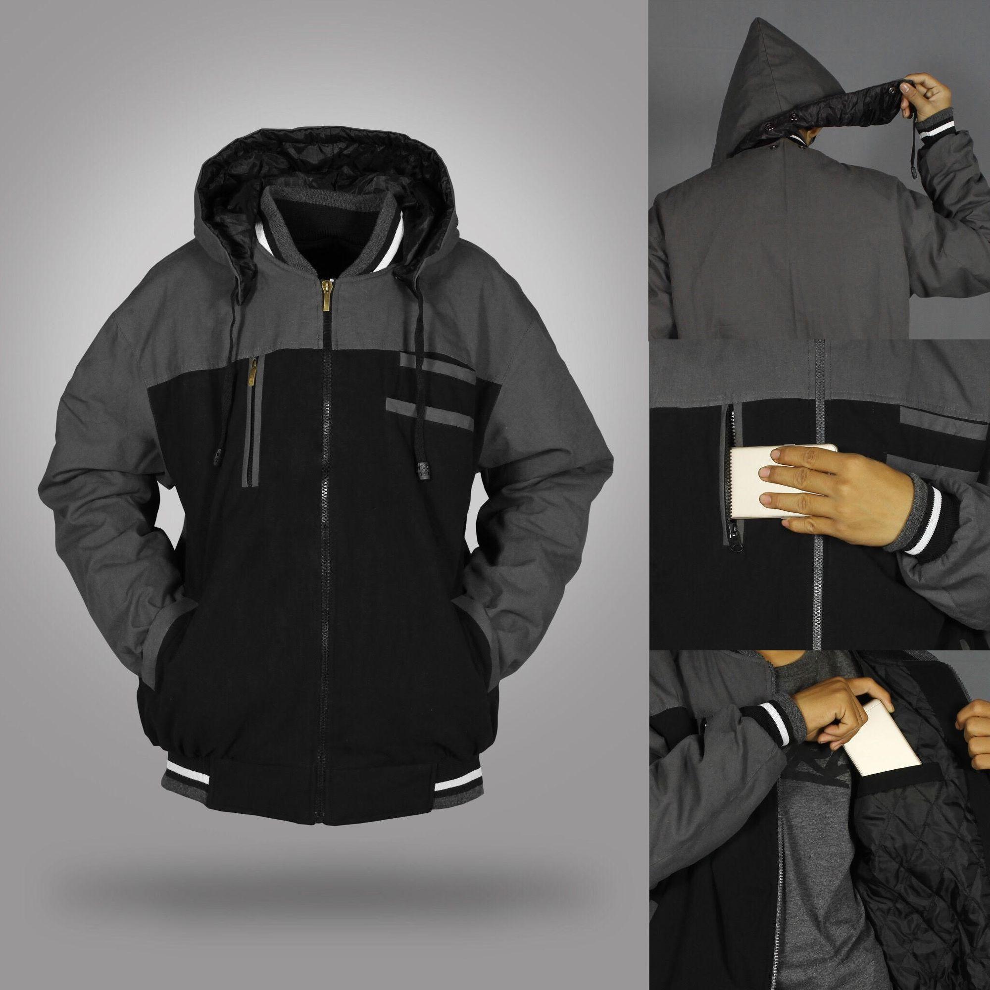 Jaket & Mantel Pria Terbaru | Lazada.co.id