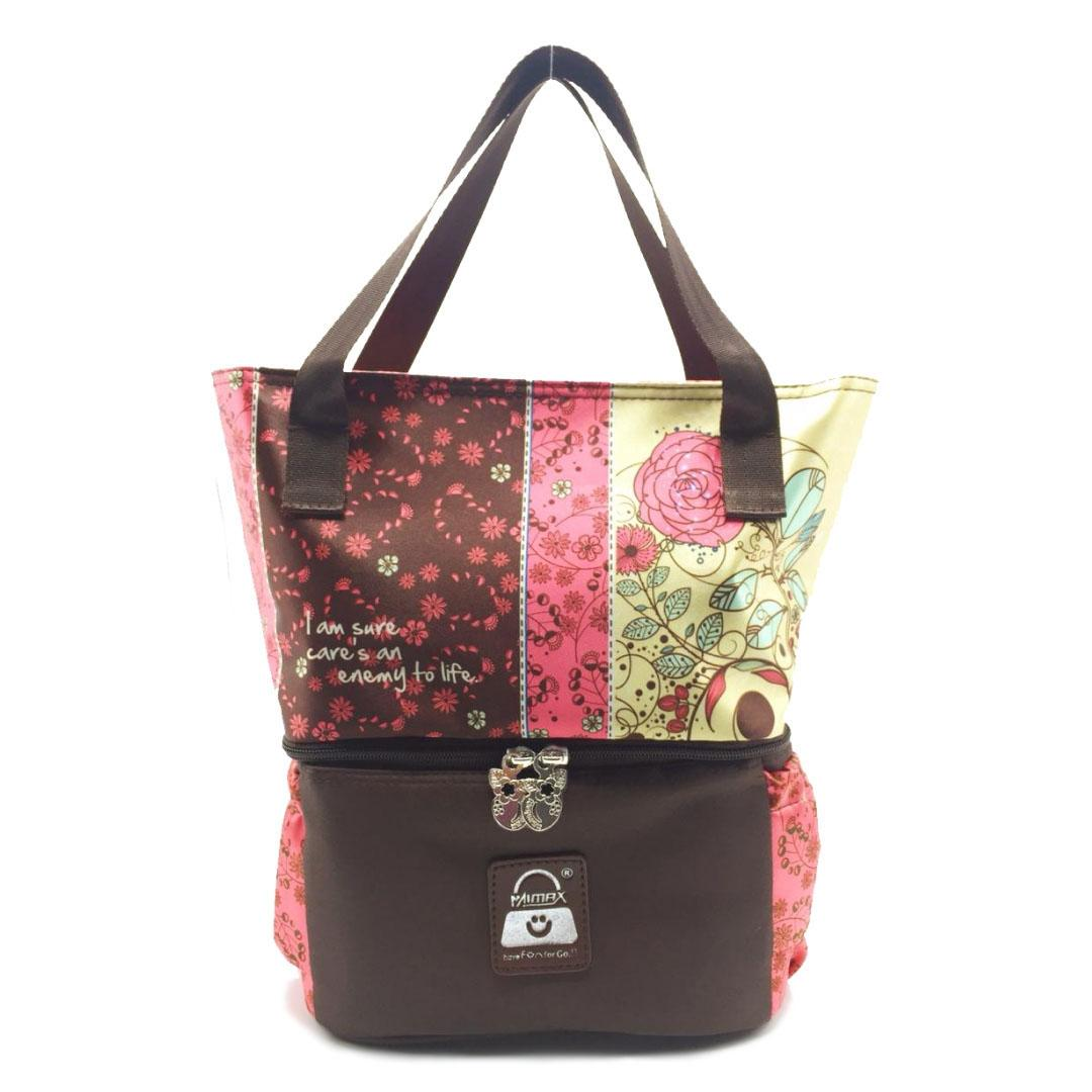 Coolerbag Naimax Louisiana Executive Brown By Mommy Baby Shop Indonesia.