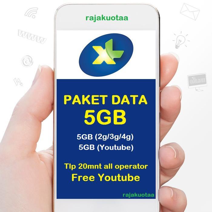 Perdana Paket Data Internet Xl, Kuota Xl Xtra Combo M 6Gb
