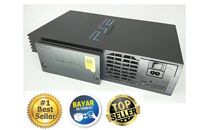 Paling Murah PS2 hardisk -  Playstation 2 Matrix - PS2 - Seri 3 - Hardisk internal - 160 GB - Full Games (Fast Loading) Bonus Memory Card (Glodok Harco)