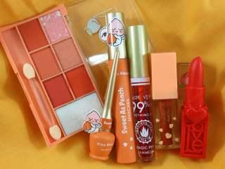 PROMO [SEPAKET] PAKET MAKE UP PEACH (Lipcream, Eyeshadow, Mascara, Eyeliner dan Foundation) thumbnail