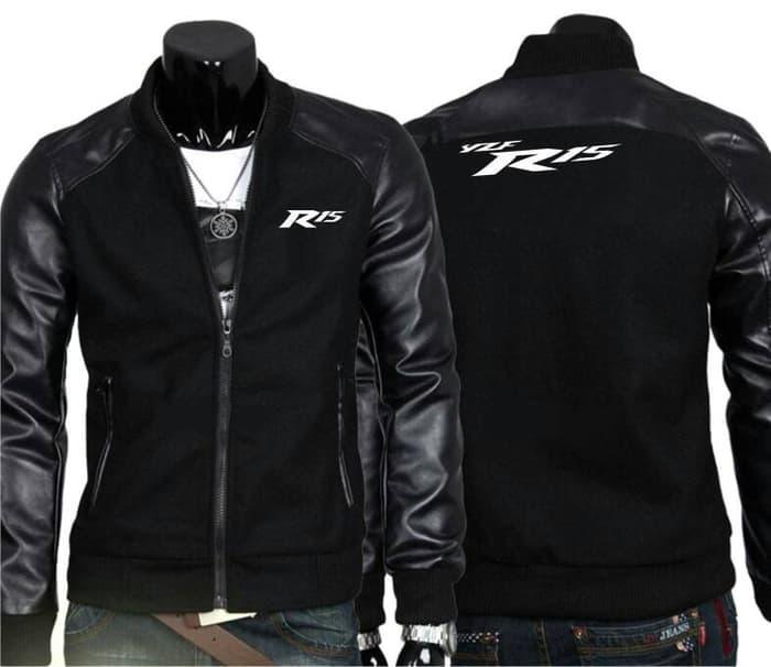 Jaket motor R15 / jaket motor / jaket yamaha r15 / jaket pria model terbaru