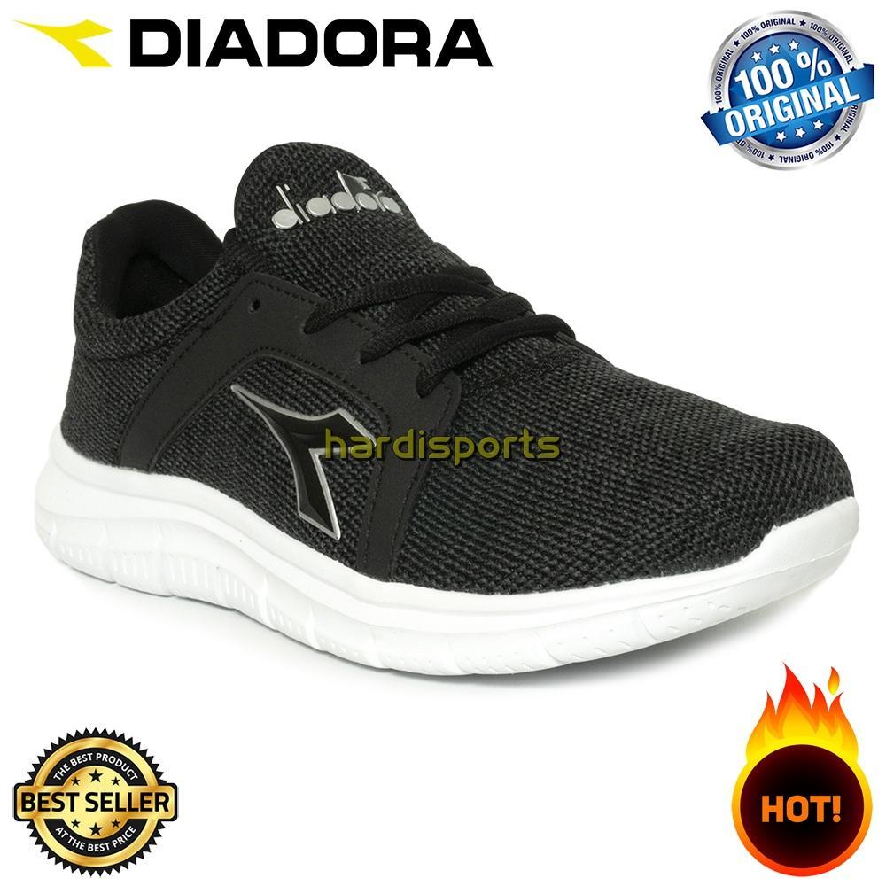 Sepatu Running Pria Diadora Elfo (M) DIAX8F0507BG - Black 76e6177436