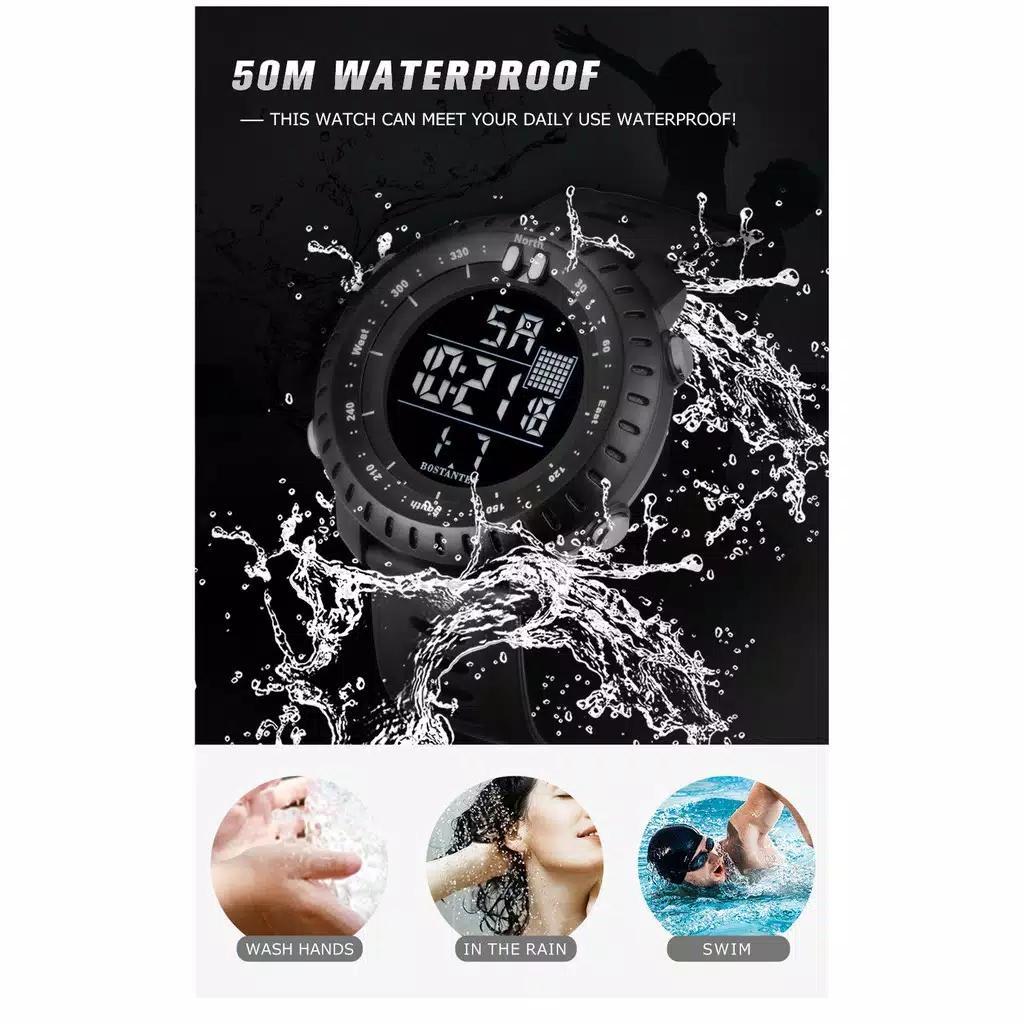 jam tangan pria sport jam tangan pria anti air jam tangan sunto pria wanita jam tangan digital terbaru warna hitam JAM TANGA SPORT TERBARU 2019