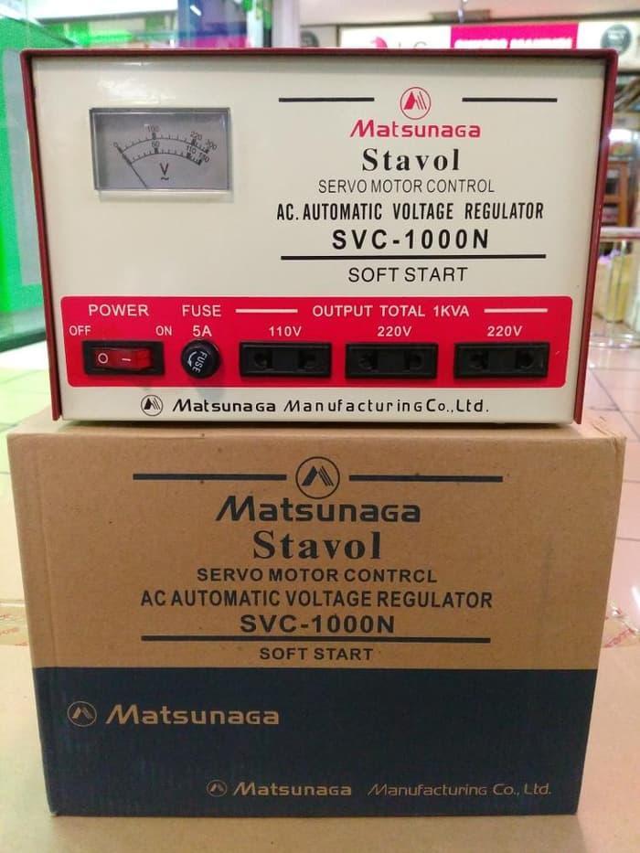 Stabilizer Matsunaga 1000watt 1000 Watt 1000w Stavol Svc 1000 By Tsukuyomi Go.