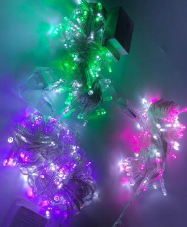 OSM - L014 (WARNA BARU) Lampu Hias Natal 100 LED/Tumblr Light/