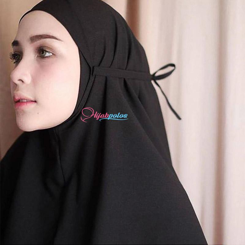 Bergo Maryam Diamond Hijab Instan Tali Warna Hitam Terbaru Kualitas Premium Bisa Bayar Di Tempat Cod Harga Promo Lazada Indonesia