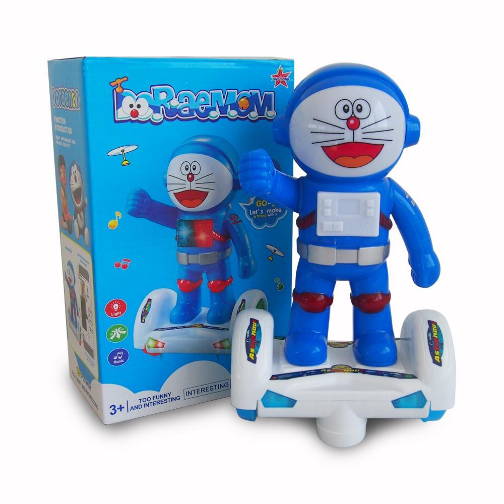 Mainan Anak Robot Balance Car Light & Sound Space Flyer / Doraemon 2699 - 2599 By Ocean Toy.
