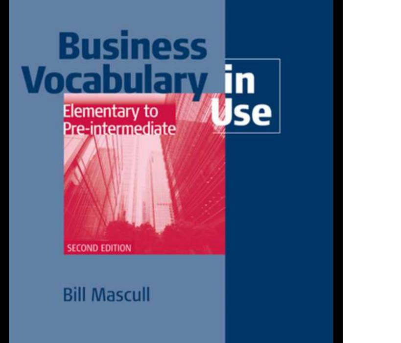 Promo Business Vocabulary In Use: Elementary With Answer By Putabangun Store.