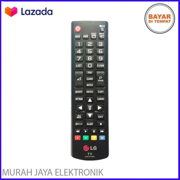 Remot/Remote LG LCD/LED TV - Hitam