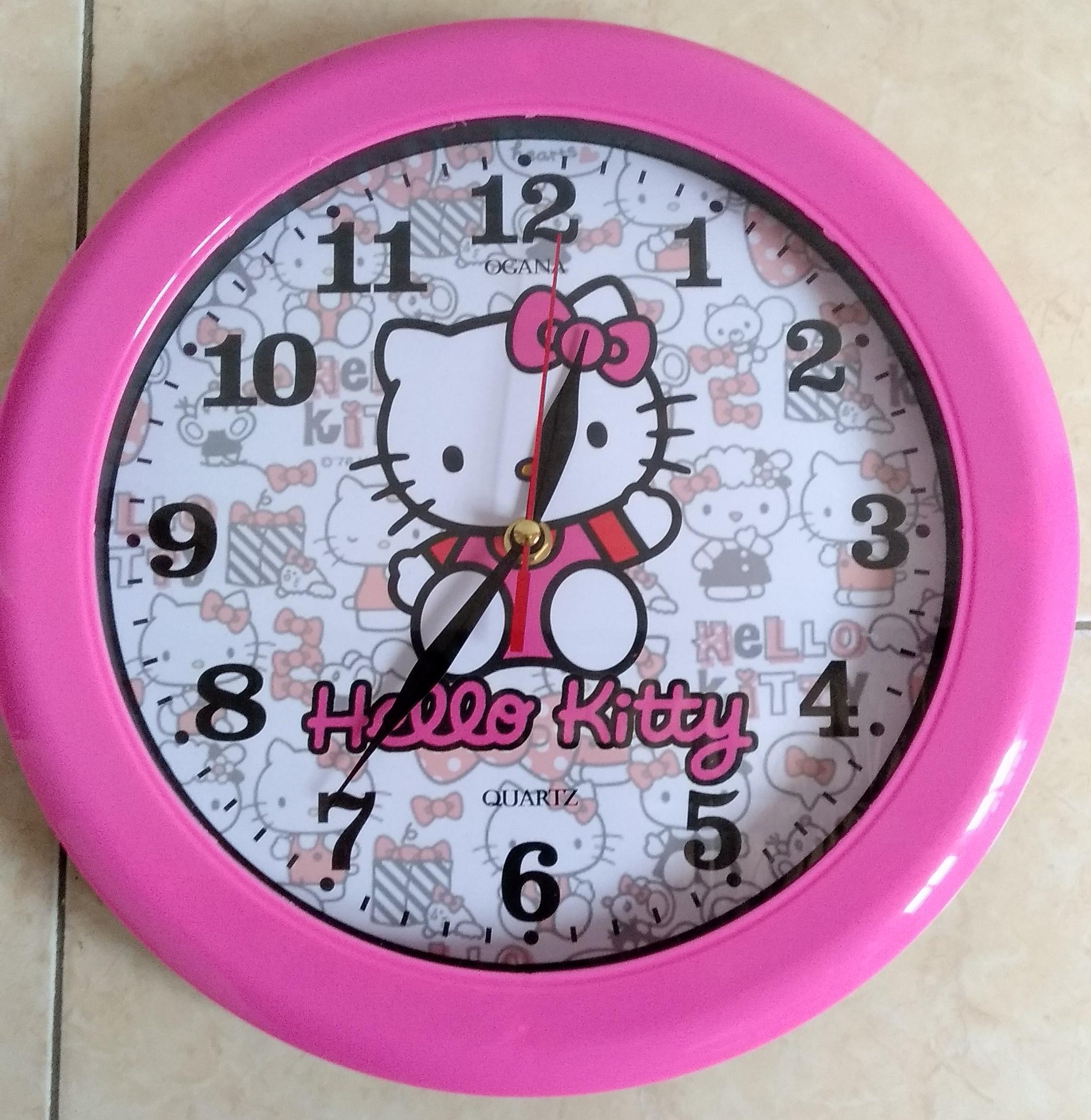 Jam Dinding Karakter Hello Kitty 0a47075c88