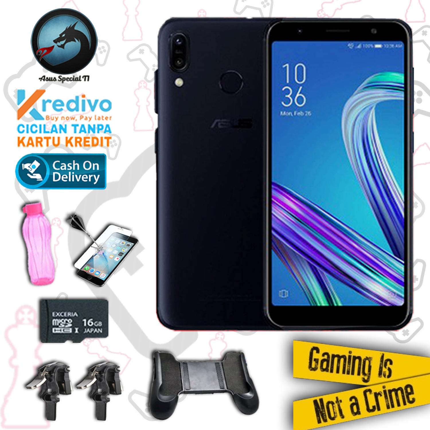 Asus Zenfone Max Pro M1 ZB602KL 3/32 Snapdragon 636 5000mAh Resmi + Packet Special Gaming