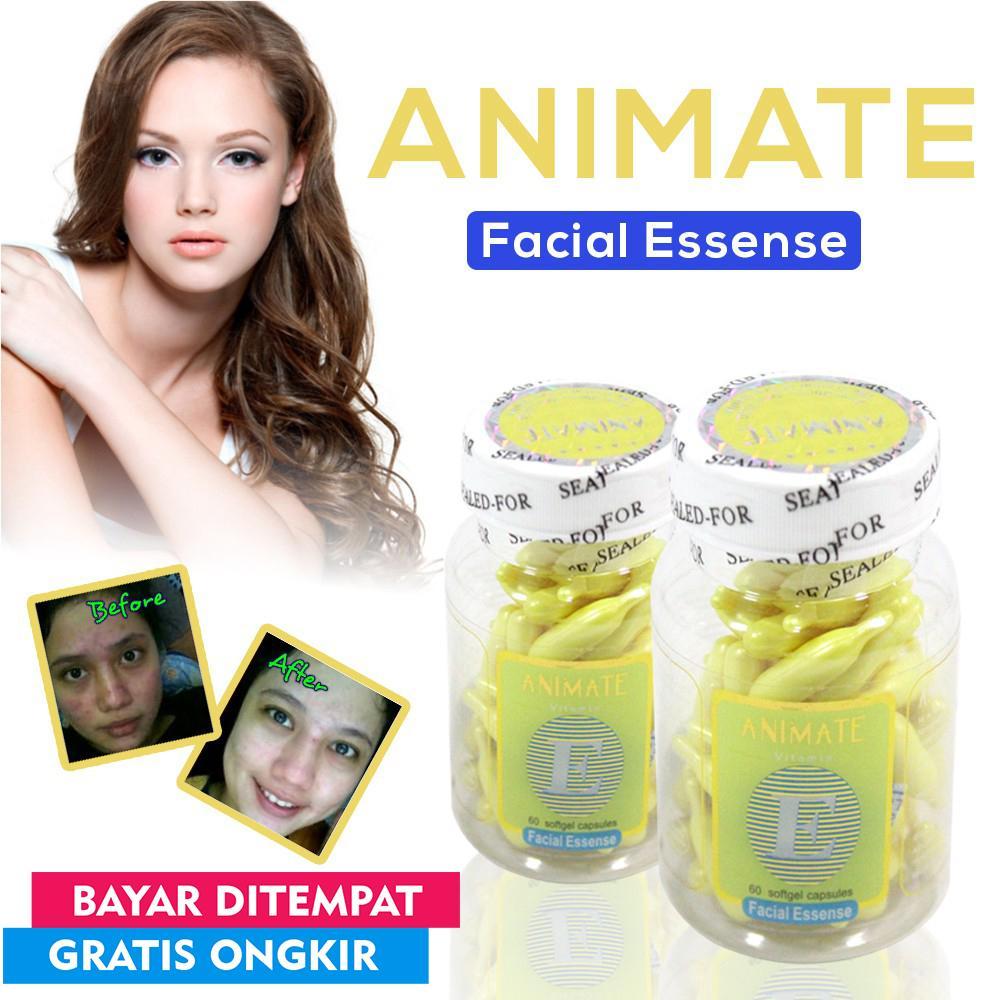 [BELI 1 GRATIS 1] Serum Vitamin Wajah Animate ORIGINAL Aloe Vera Facial Oil -