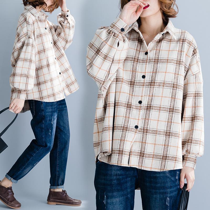 Gaya Barat Ukuran Besar Baju Wanita Busana Musim Semi Model Baru