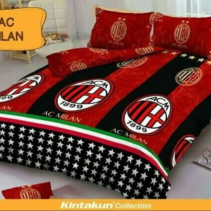 Sprei Kintakun Dluxe Ac Milan No.3 Single Uk 120x200 Seprai By Nemo Store.