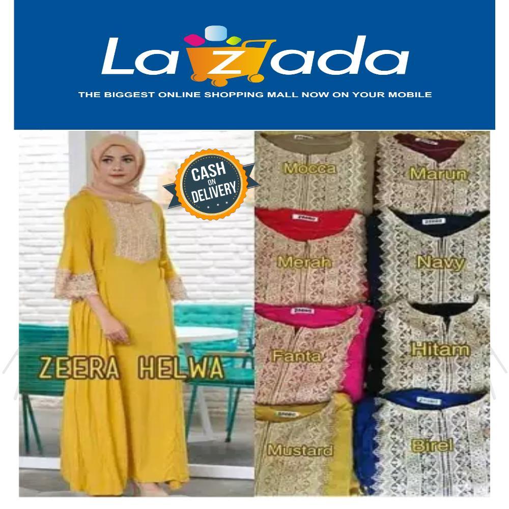 New Promo Sale Maxi dress arab/india/dubai/turki teby praha daster busui  Termurah / RRS5896