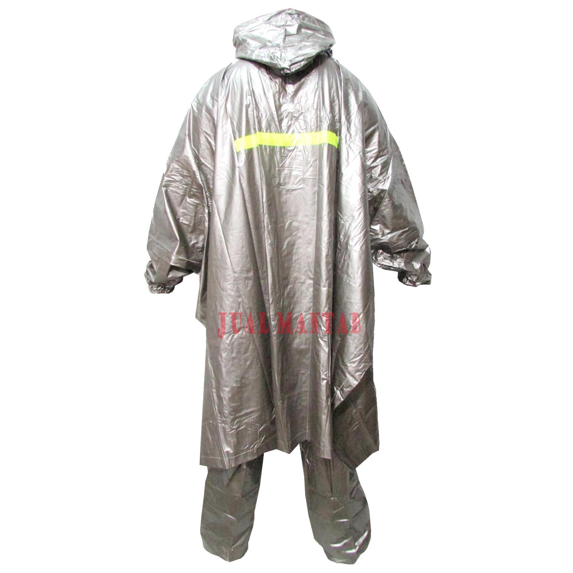 Jas Hujan Setelan Hybird Ponco Celana - Raincoat Jas Hujan Poncho Dewasa  Pria Wanita Murah Motif 84723935f9