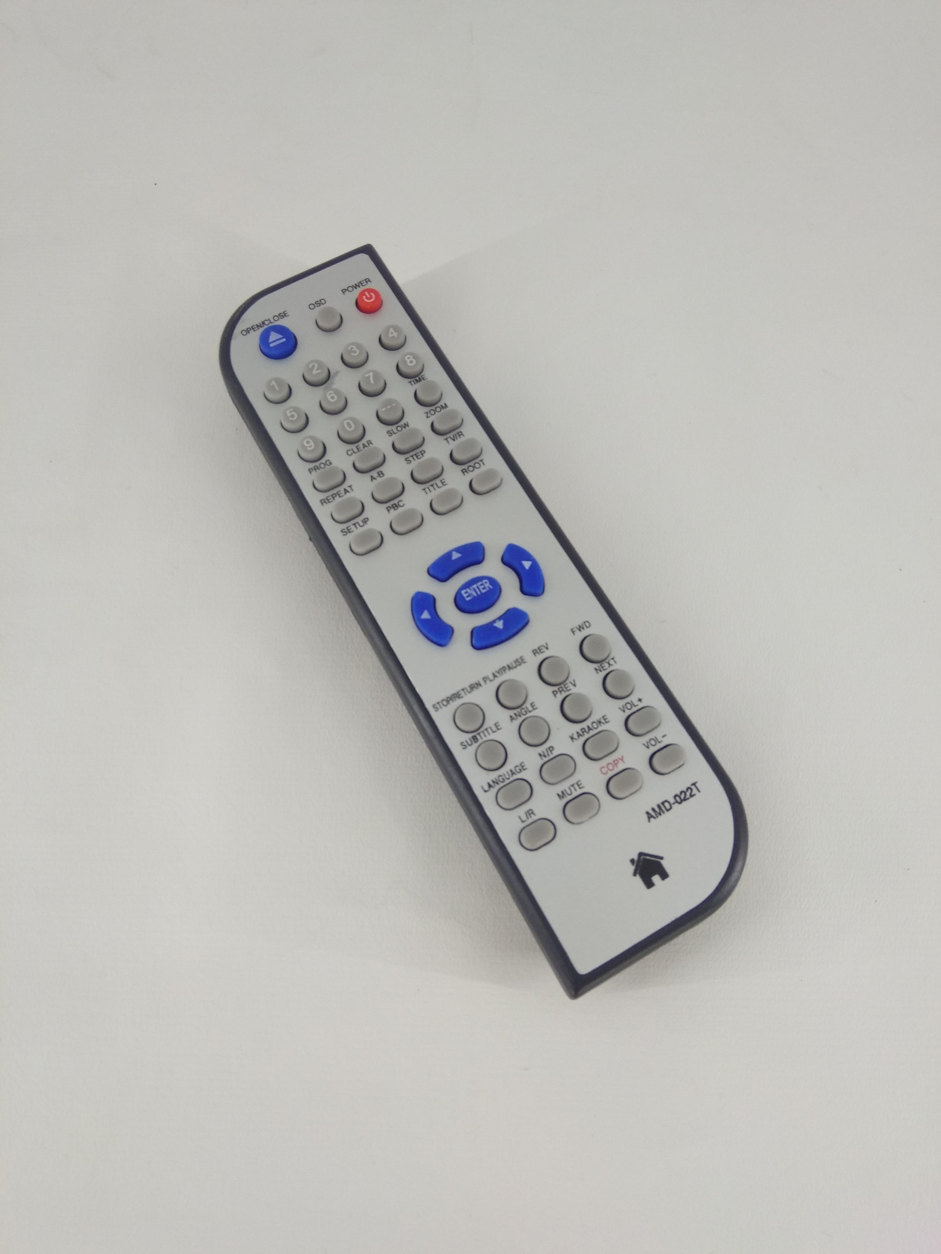 Remot Remote DVD Niko NC-351D / Skytron AMD-022T Original Pabrik / KW