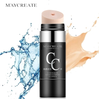 KSR-(COD) Face Natural Air Cushion CC Cream Moisturizing Foundation Makeup Cover Up Waterproof Whitening Twist N Brush Correct Control Cream Concealer Stick M ayCreate MayCreate thumbnail