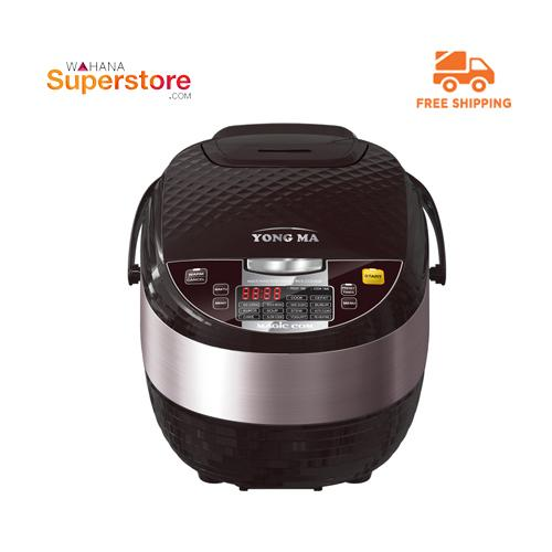 Yong Ma Rice Cooker - SMC8027 - BROWN - GRATIS ONGKIR