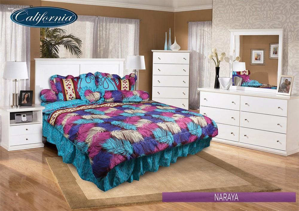 California - Bed Cover King set Naraya