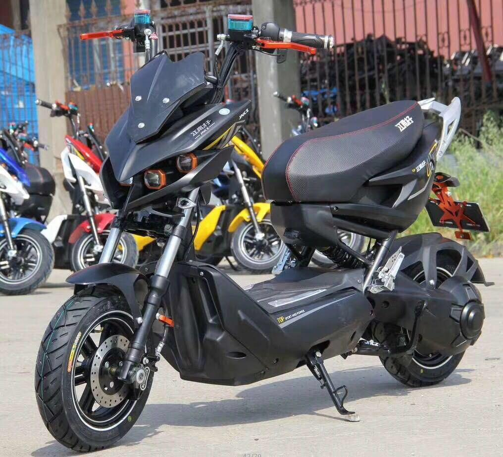 Sepeda / Motor Listrik SunRace New F1 dengan Motor 1000W 72V 22Ah