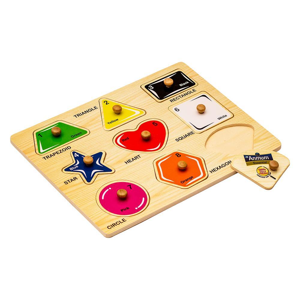 [free Gift - Do Not Order/jangan Dibeli] Puzzle Kayu By Lazada Retail Anmum.