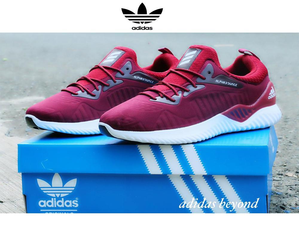 Sepatu Fashion Pria Running New Alphabounce Beyond Warna Marun (Bisa Bayar  Ditempat) f595bcee66