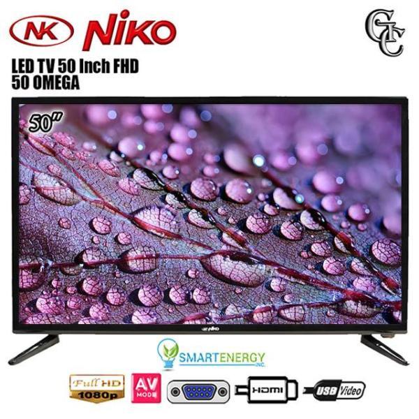 Niko OMEGA LED TV 50 Inch FULL HD HDMI USB MOVIE