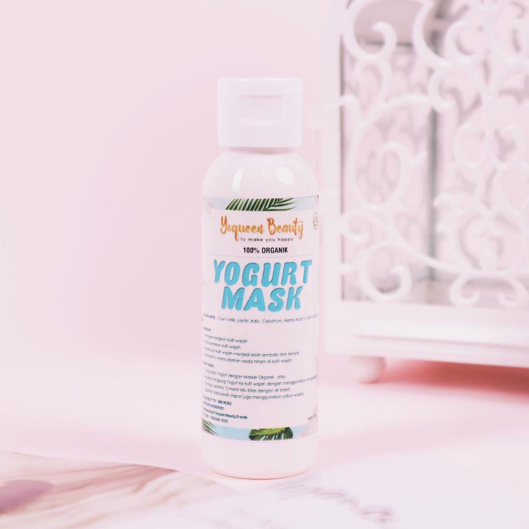Masker  Yoghurt yoqueen beauty (kemasan baru)
