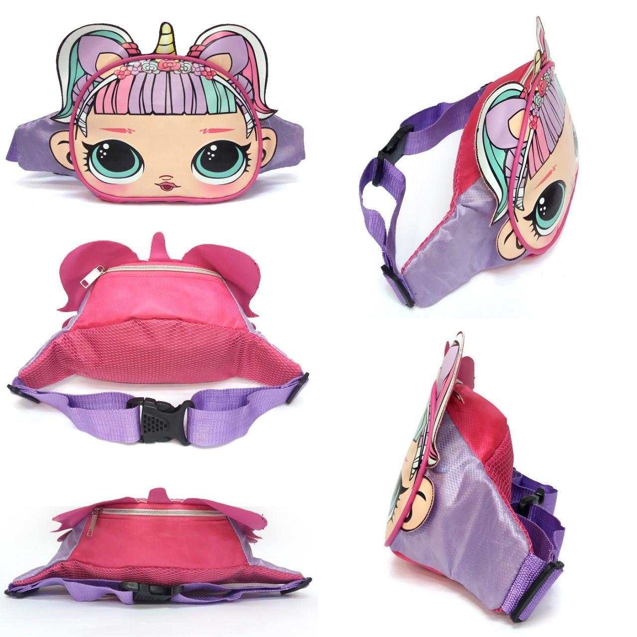 Onlan PROMO Waist Bag Anak - Tas Pinggang Anak Perempuan LOL Cute dan Cantik 15c7a1be66
