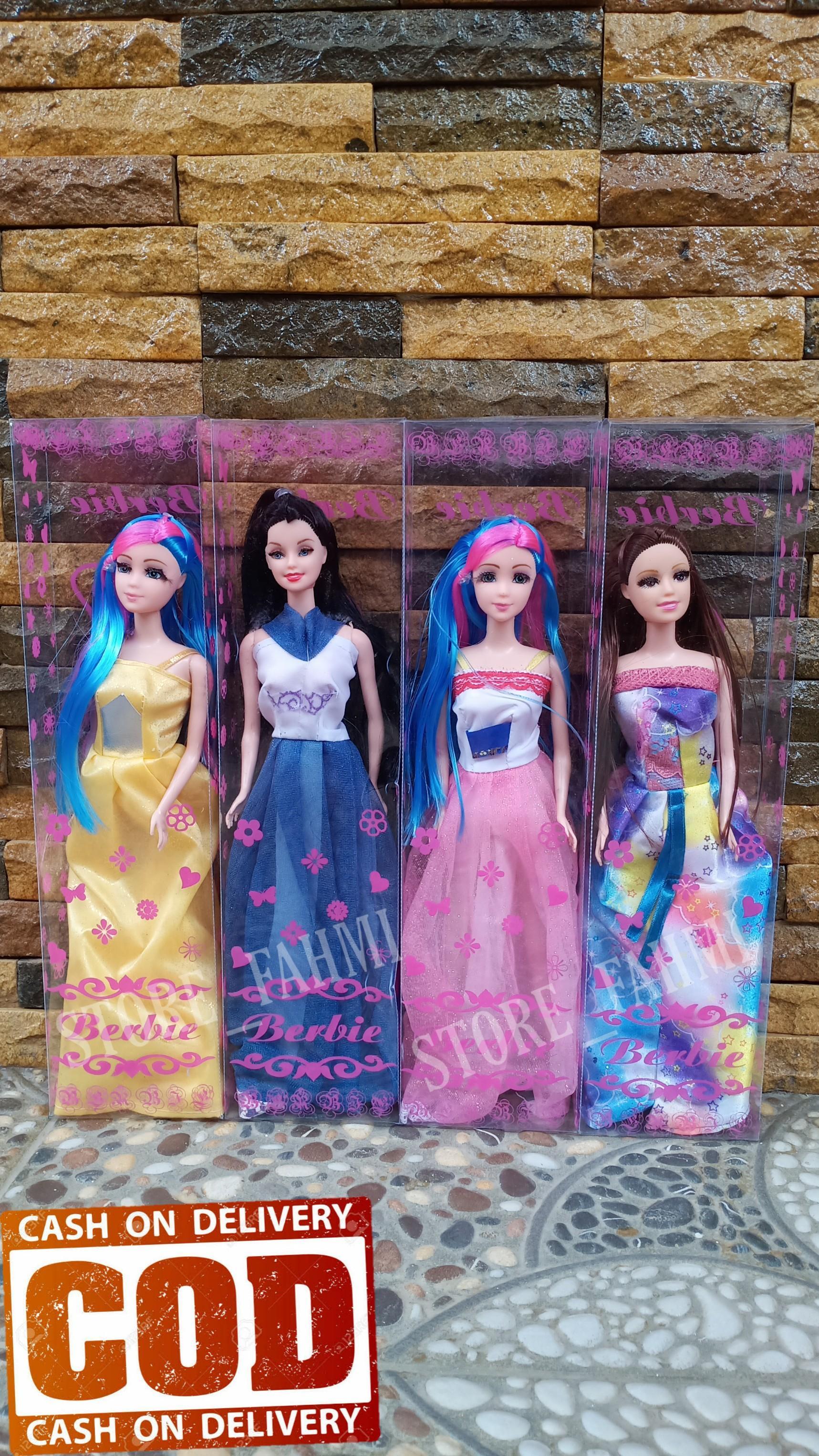 Terbaru Boneka Berbi Murah Boneka Berbi Boneka Berbi Mainan Boneka Boneka Mainan Mainan Cewek Mainan Cowok Kado Anak Store Fahmi Rudy Fandi Lazada Indonesia