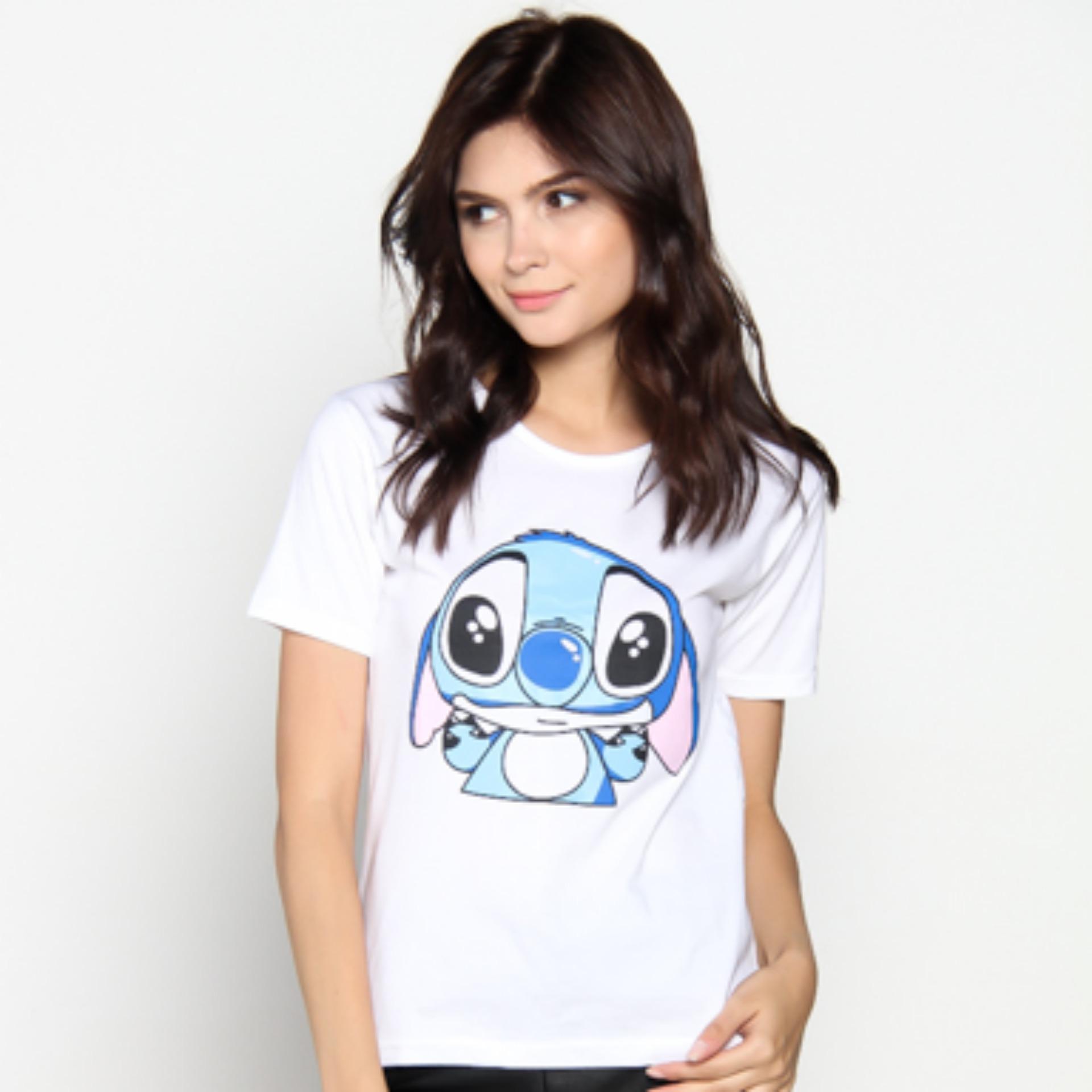 JCLOTHES - Tumblr Tee Tshirt Stitch Kaos Wanita