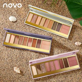 Phấn Mắt C & M NOVO Phấn Mắt 9 Màu Lãng Mạn Kiểu Đồng Quê, Bảng Phấn Mắt Màu Nude Trang Điểm Màu Nâu Nhẹ Nhàng Người Mới Bắt Đầu Eyeshadow Palette thumbnail