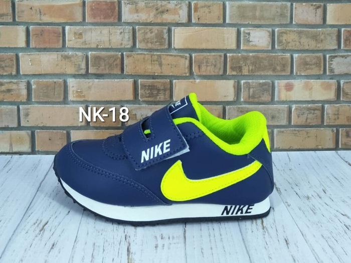 Sepatu Nike Anak Navy Ijo Stabilo NK-18 - 24