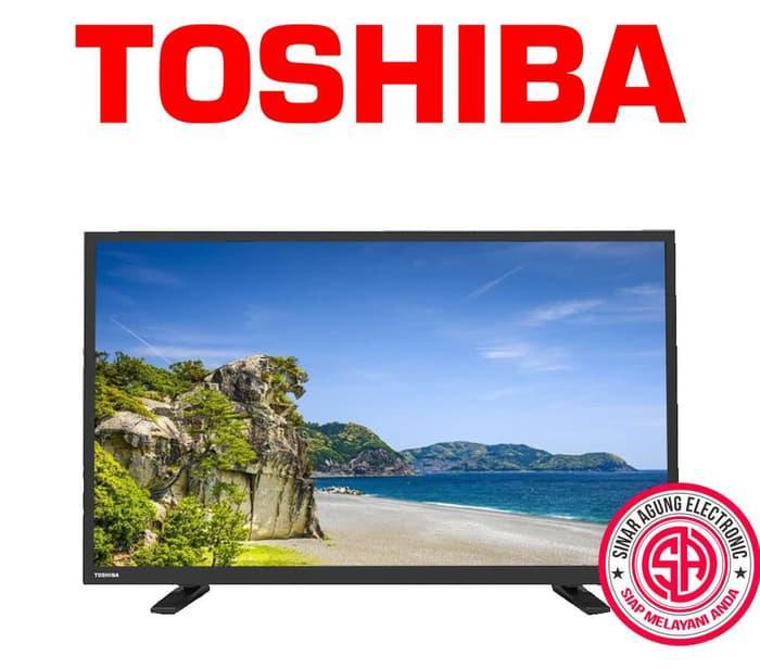 TOSHIBA 32L2800VJ - USB MOVIE LED TV - 32 Inch Free Packing Kayu
