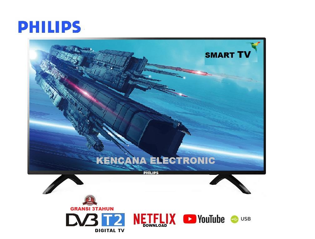 PHILIPS 43PFT5853S-Smart TV & Digital LED TV  -FULL HD 43 Inch - FREE ONGKIR & KHUSUS JABODETABEK