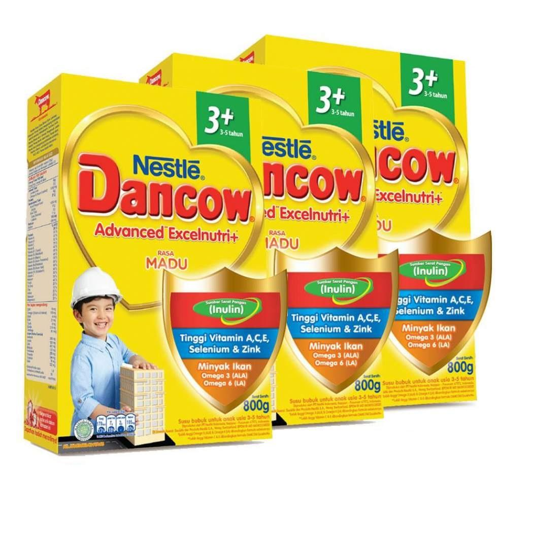 Dancow 3+ Madu 800g By Babycenter.