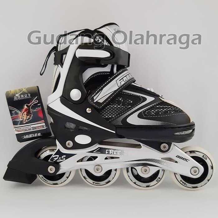 Sepatu Roda Inline Skate FREE STAR Ban Full Karet Belanja kejutan ... 551f80b1dd