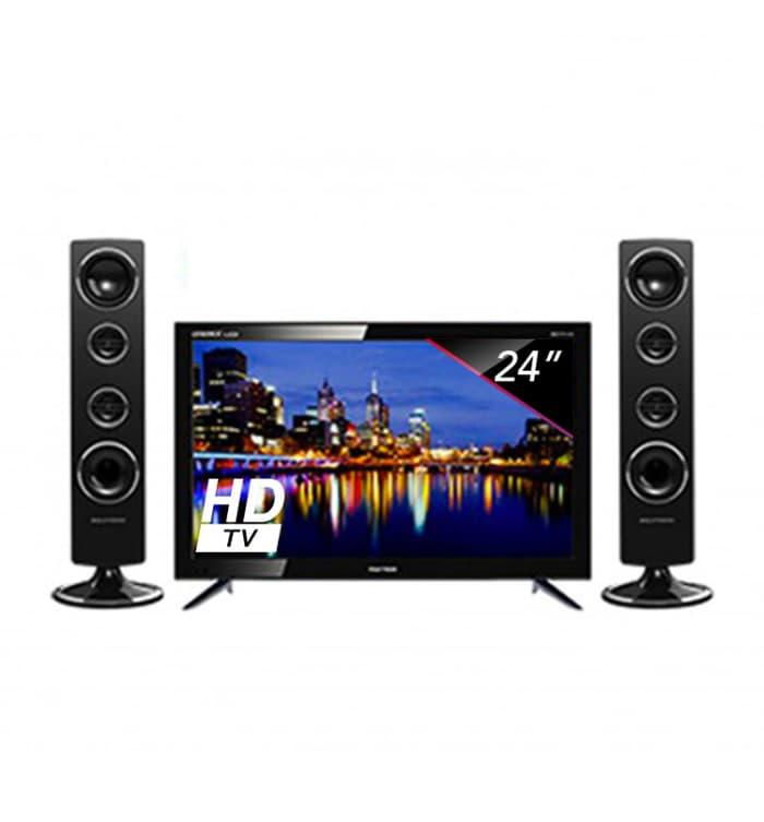 POLYTRON TV LED 24 inch - PLD24T8511 + SPEAKER TOWER