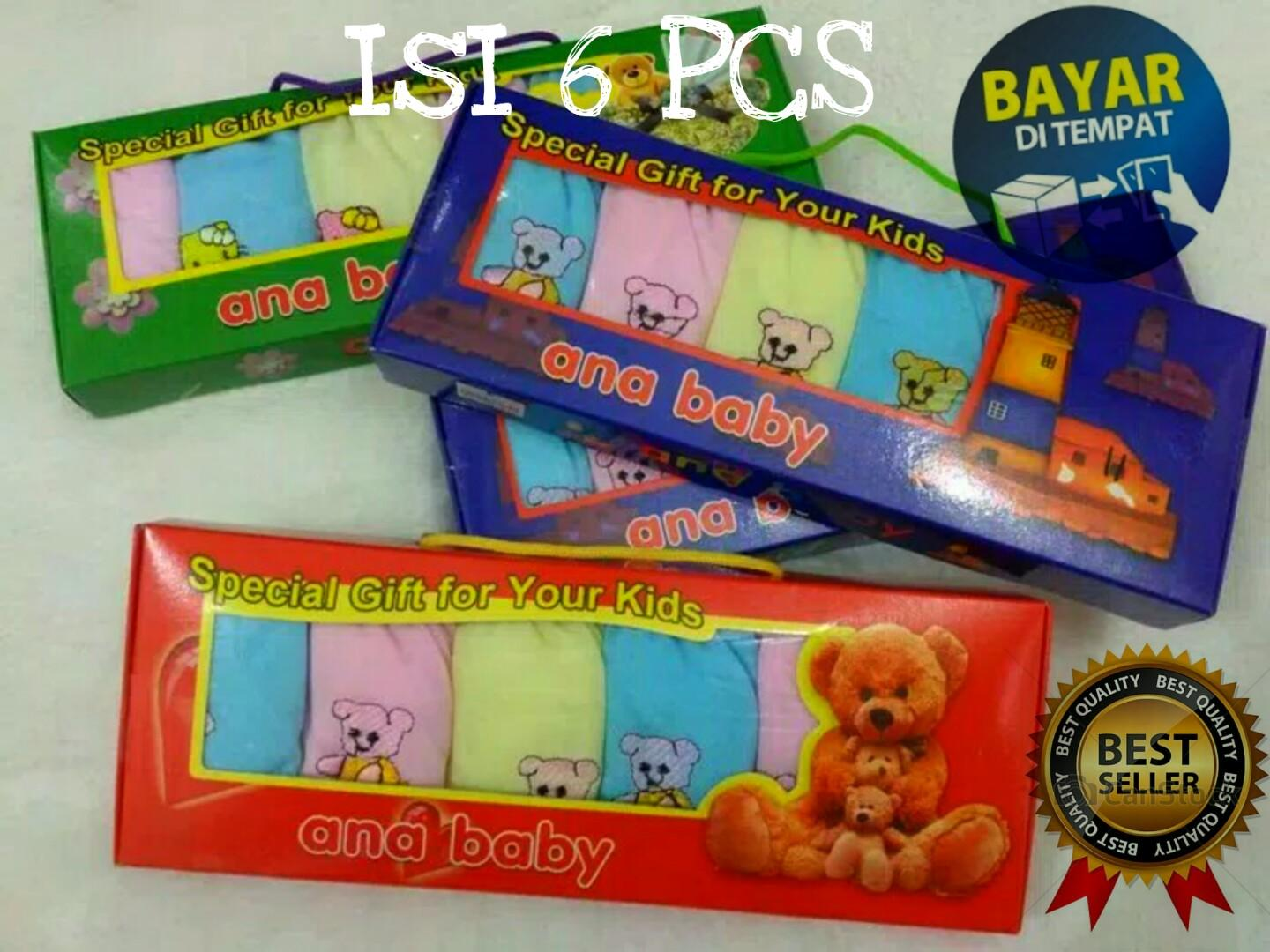 Celana Pop Bayi Isi 6 Pcs By Enzo Shop.