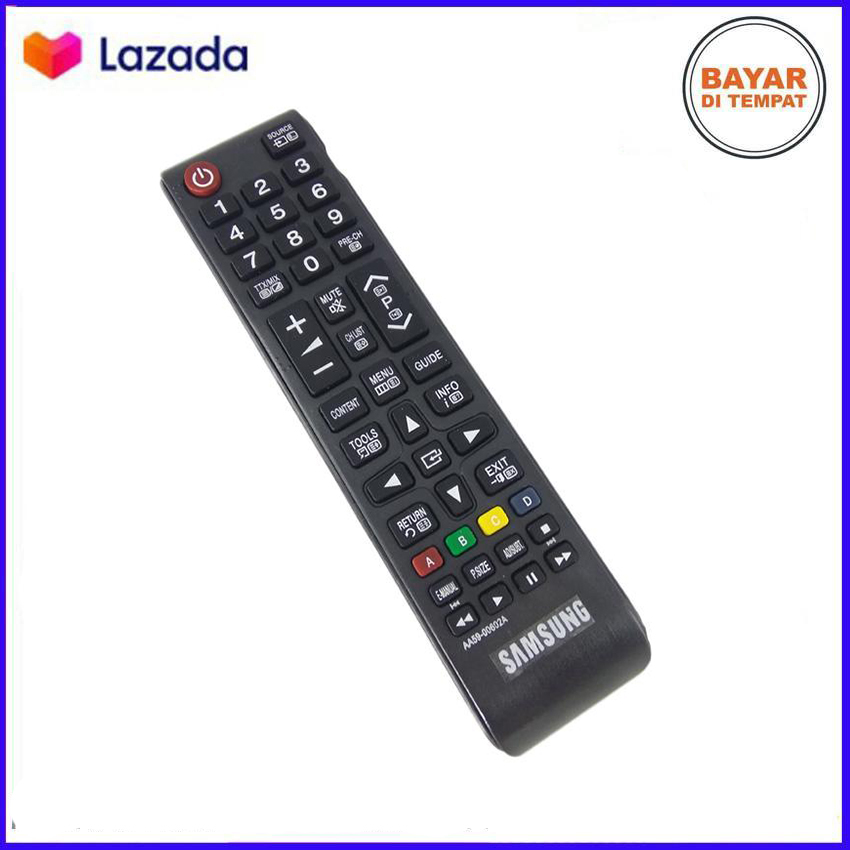 Remot Remote Samsung TV LCD LED - Hitam