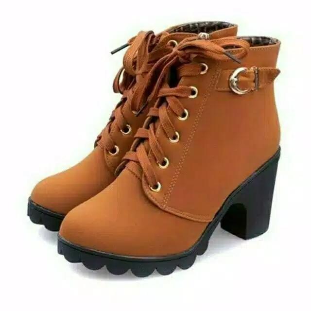 sepatu kets wanita -sepatu boots hak wanita terbaru
