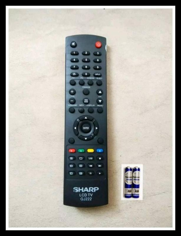 Sharp Remote Control TV LCD/LED GJ222 - Hitam