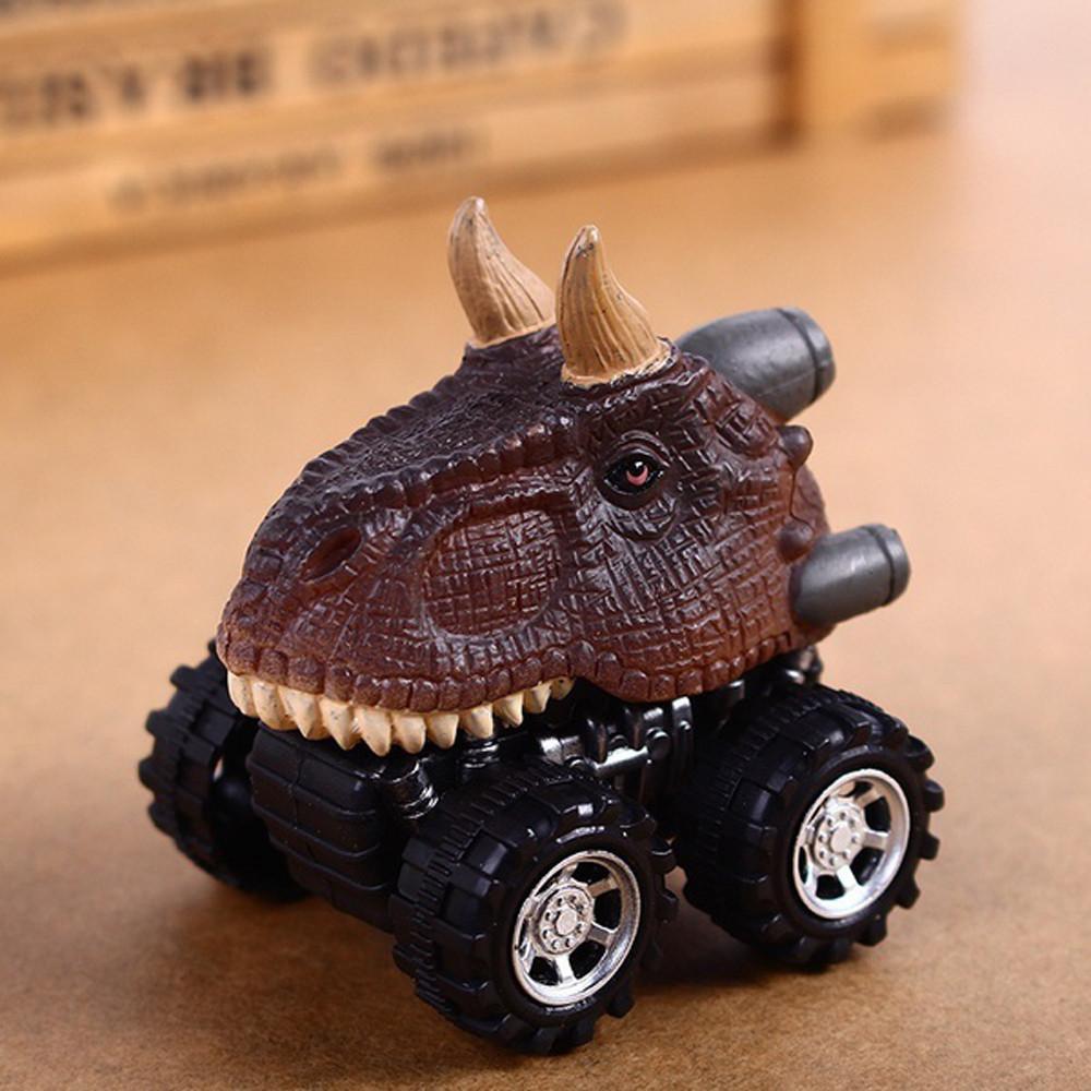 1PC Children/'s Day Gift Toy Boy Dinosaur Model Mini Toy Car Back Of The Car Gift