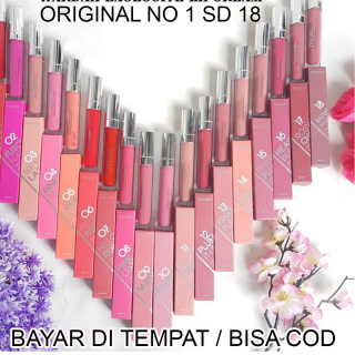 Zacksho (DISCOND TERBESAR) ORIGINAL Wardah Lip Cream Exclusive Matte Cair Lipcream Original thumbnail
