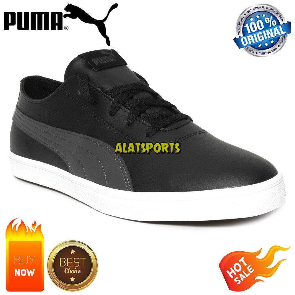 748c82803e26 Sepatu Sneaker Pria Puma Urban SL 365257-01 - Black ORIGINAL